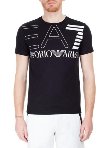 EA7 Emporio Armani  T Shirt Erkek T Shırt S 6Gpt11 Pj02Z 1200 Siyah